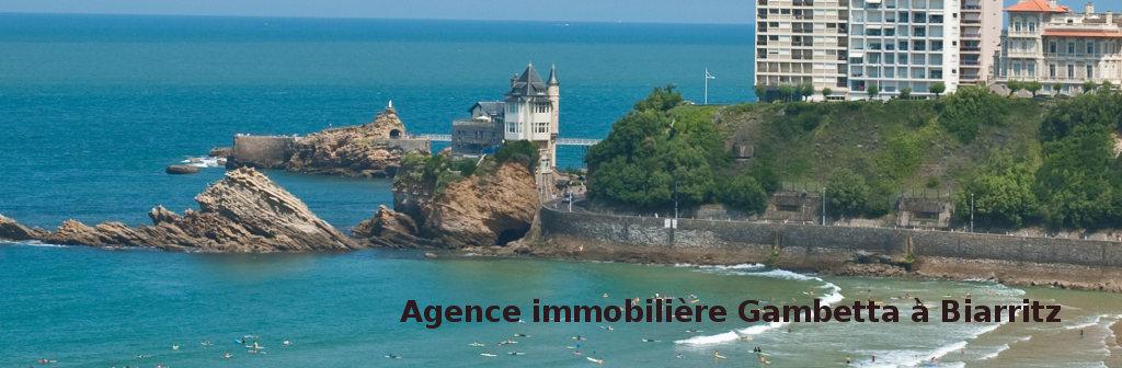 Gambetta immobilier biarritz